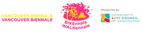 Vancouver Biennale's BIKEnnale and WALKennale presented by Community Arts Council of Vancouver