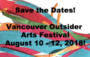 Save the Date for Vancouver Outside Arts Festival