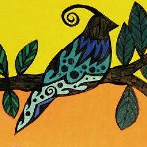 Marianne Powley - Blue Bird Leaves