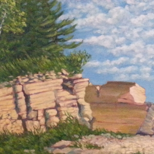 Richard Hildebrandt, Hecla Island Quarry