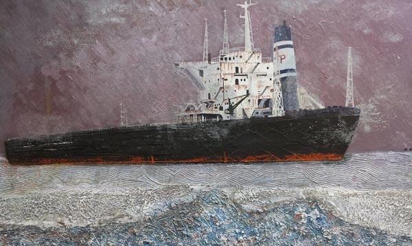 Ship by Robert Aki, artist