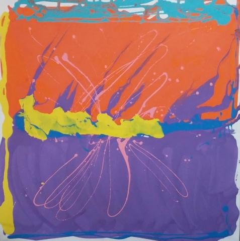 Summer Horizon by Daisy Green, artist