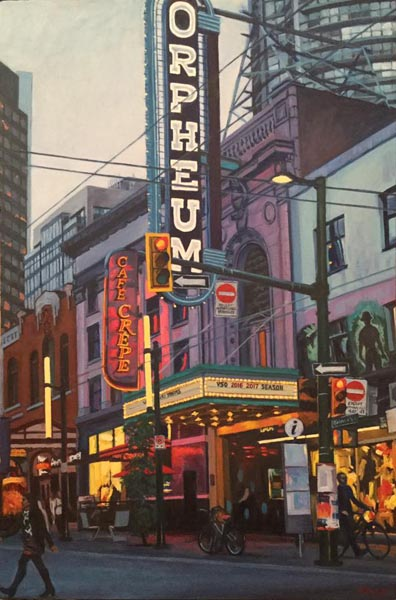 The Orpheum by Jennifer Brouse, artist
