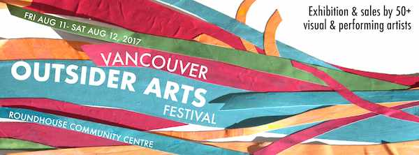 Vancouver Outsider Arts Festival banner