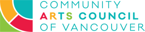 Logo for Community Arts Council of Vancouver