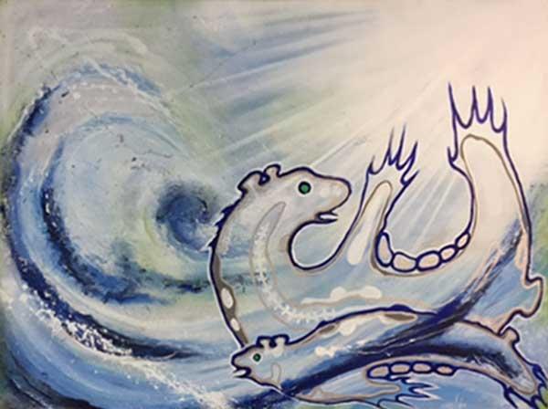 Transition by Larissa (Gurl) Healey, artist