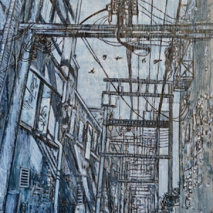 Edzy Edzed, A Sketch of Crows Flying in the DTES