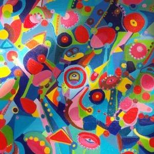 Julia Russell-  Flowers Symmetry