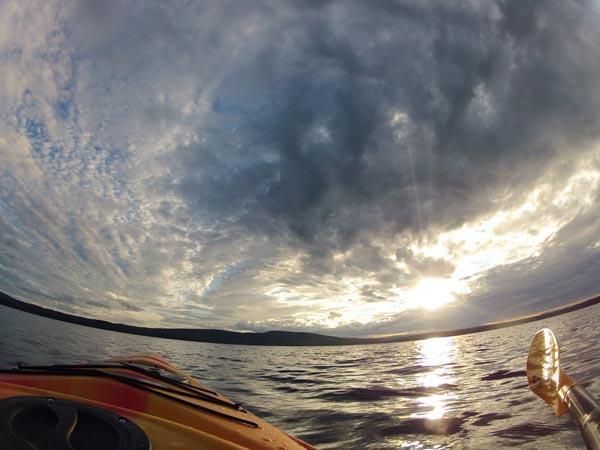 Late Afternoon Kayak by Rosemary Briggs, artist