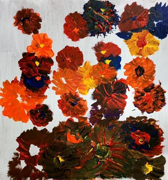 Flowers by Shane Sinclair, artist
