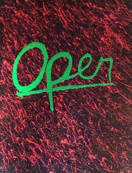 Open by Martin Murphy, artist